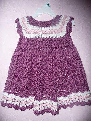 Child's Crocheted Dress   No. 602   Free Vintage Crochet Patterns