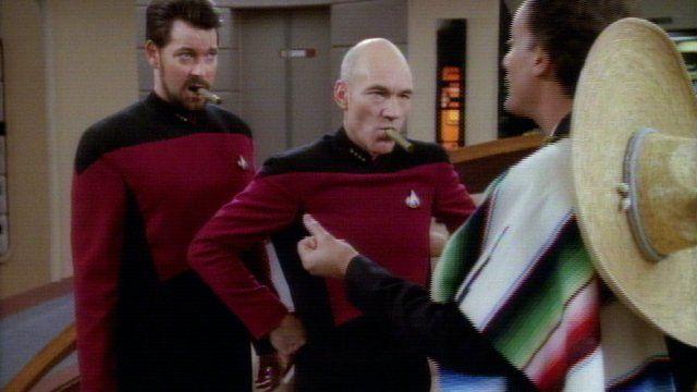 Star Trek Star Trek: The Next Generation - Q de Deja