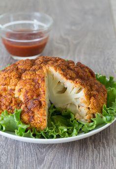 #Epicure Buffalo Roasted Cauliflower