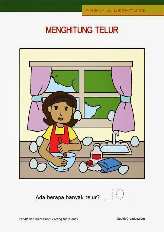 belajar menghitung angka 1-10 untuk anak balita/TK