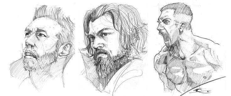 New faces, Marko Pudar on ArtStation at https://www.artstation.com/artwork/new-faces