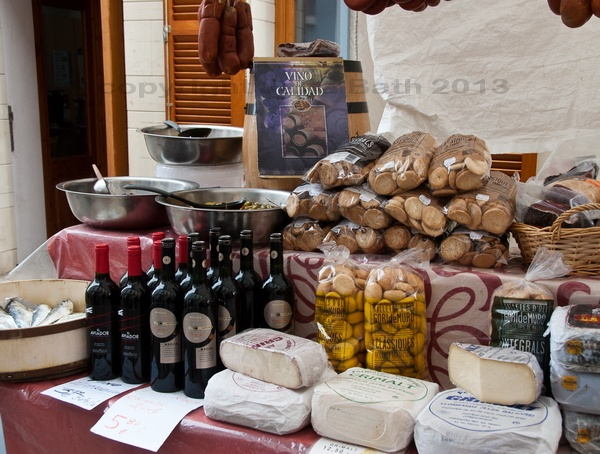Mallorca, Spain, Son Servera, market, photo Jana Bath 2013