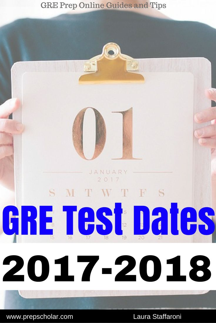 Trying to figure out when to take the GRE? This official guide lists GRE test dates for the 2017-2018 testing year.
