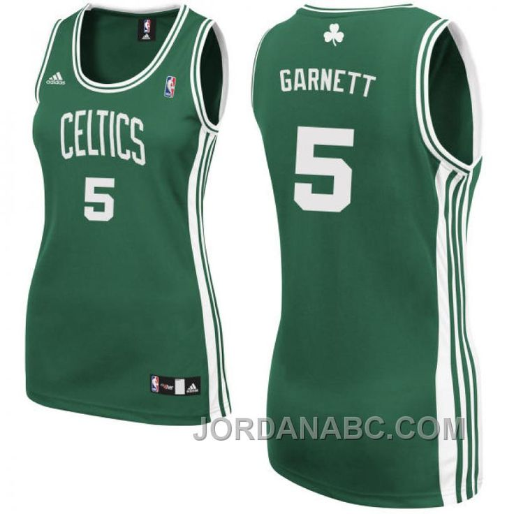 http://www.jordanabc.com/womens-kevin-garnett-boston-celtics-5-green-jersey-for-sale.html WOMEN'S KEVIN GARNETT BOSTON CELTICS #5 GREEN JERSEY FOR SALE Only $51.00 , Free Shipping!