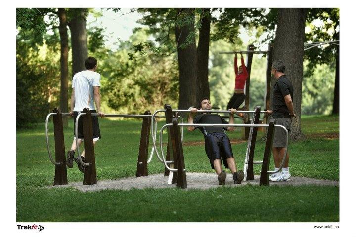 Un gros thumbs up pour les installations Trekfit dans les parcs de la grande région de Montréal