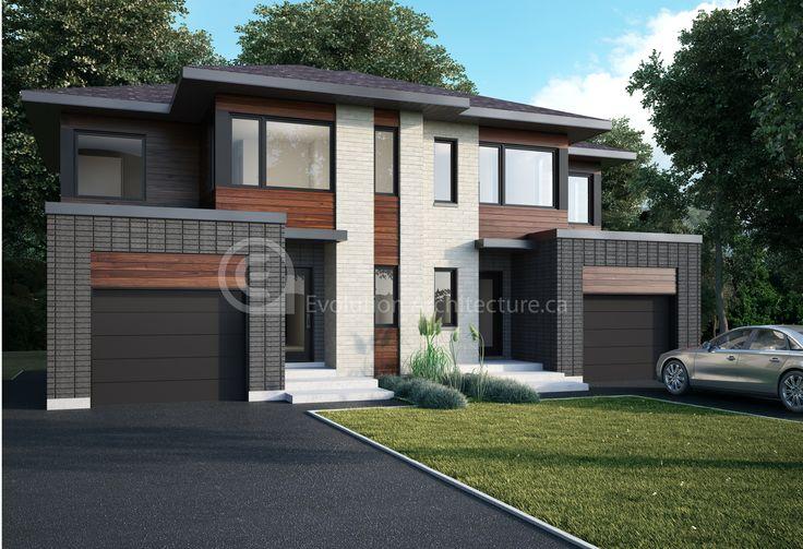 Evolution Architecture,maison moderne,création exclusive E-866