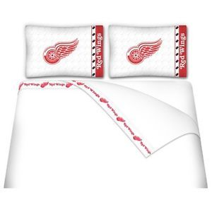Sports Coverage Detriot Red Wings Micro Fiber Sheet Set