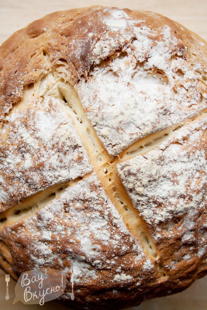 Английский фермерский белый хлеб