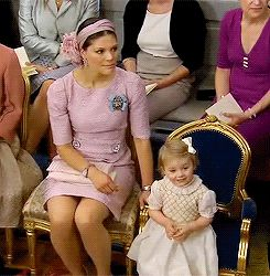 Tiny Swedish Princess Estelle completely stole the show at her cousin's christening, as tiny Swedish princesses should. | Suri's Burn Book