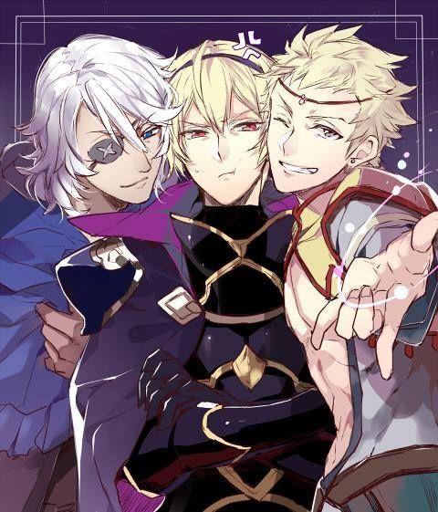 Fire Emblem If/Fates - Leon, Odin and Zero