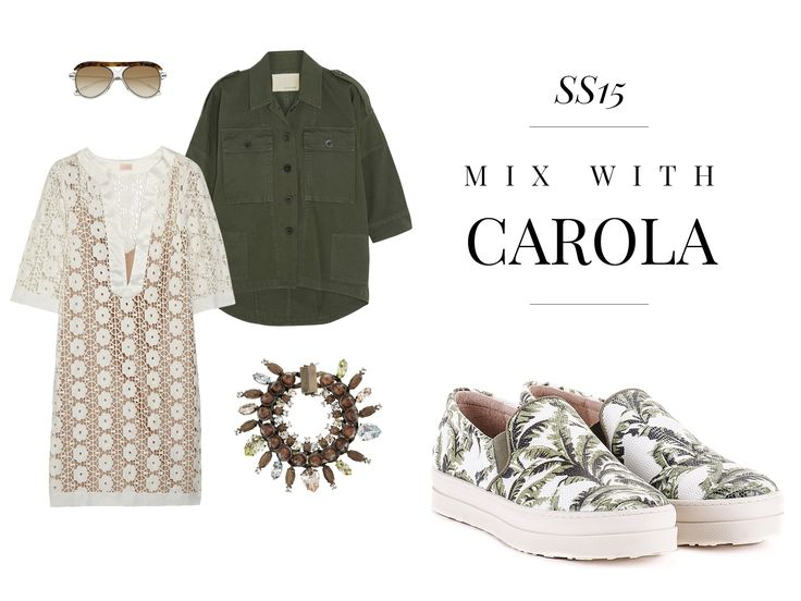 Mix with CAROLA, the best accessory this spring!