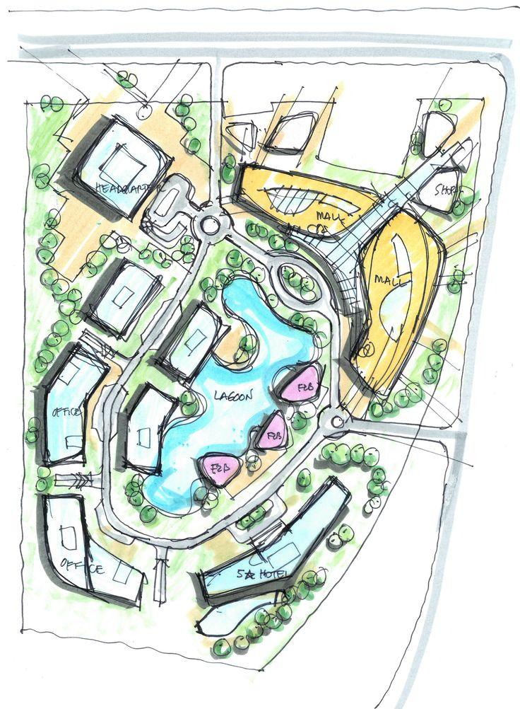 Mlp concept randy carizo architecture sketches l randy for Urban design concepts architecture