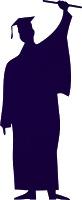 congratulation clipart graphics – free scrap graduate silhouettes and graduation cap clipart graphics – Freebies