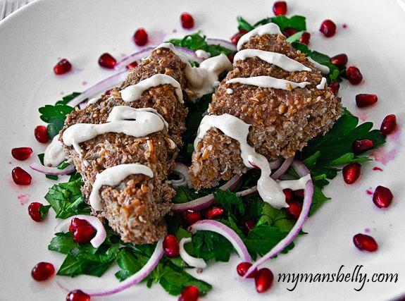 ... Parsley Salad | Noms - Entrees | Pinterest | Easy Lamb Recipes, Lamb