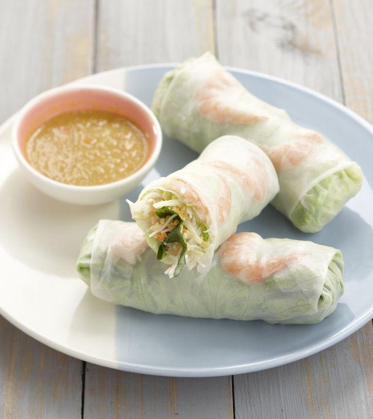 Rouleaux de printemps au Thermomix®. Une recette facile prête en 30 minutes pour les amoureux de la cuisine asiatique !