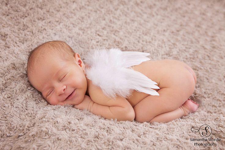 Newborn Photography, Newborn and angel wings, Child photography, Tutu, Samantha Wordie Photography