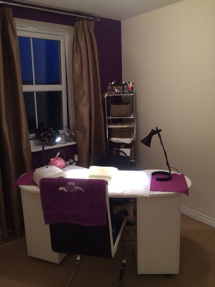 My New home nail salon x
