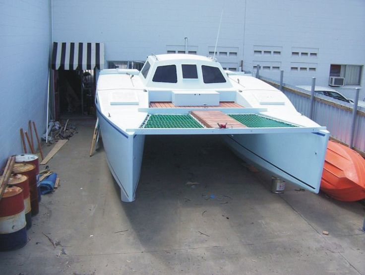 The $21K catamaran: Build a cat fast and cheap