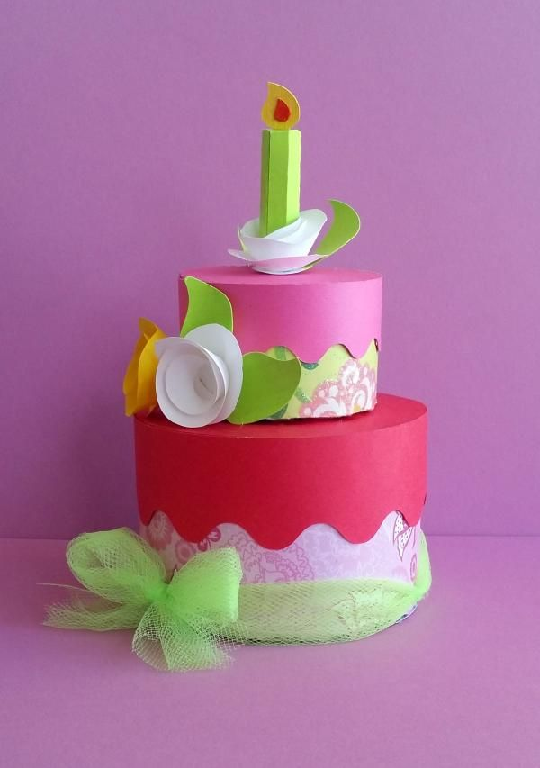 Birthday Cake Images Down : 17 Best images about Paper cakes and paper cupcakes on ...