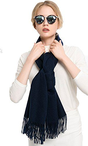 56b7a61ba8df9 Lulla Collection Womens Lambswool Shawl, Winter Warm Cashmere Wool Blend Shawl  Wrap Scarf Stole for Women Large Size 78