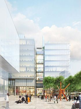 Renzo Piano Building Workshop - Projects - By Type - Jerome L. Greene Science Center for Mind Brain Behavior