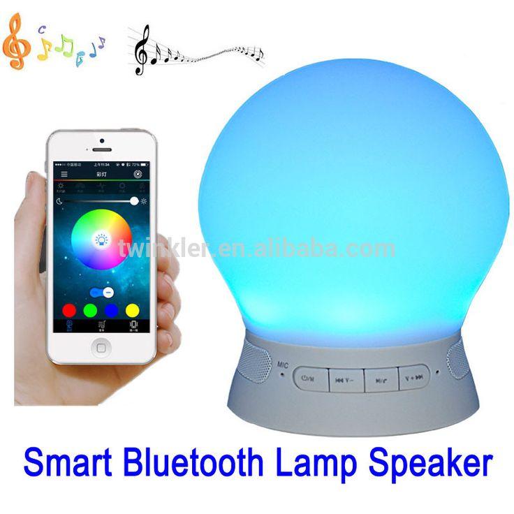 led smart Light Bulb Lamp Wireless Bluetooth 4.0 Speaker lamp Base Music Player for andriod app system