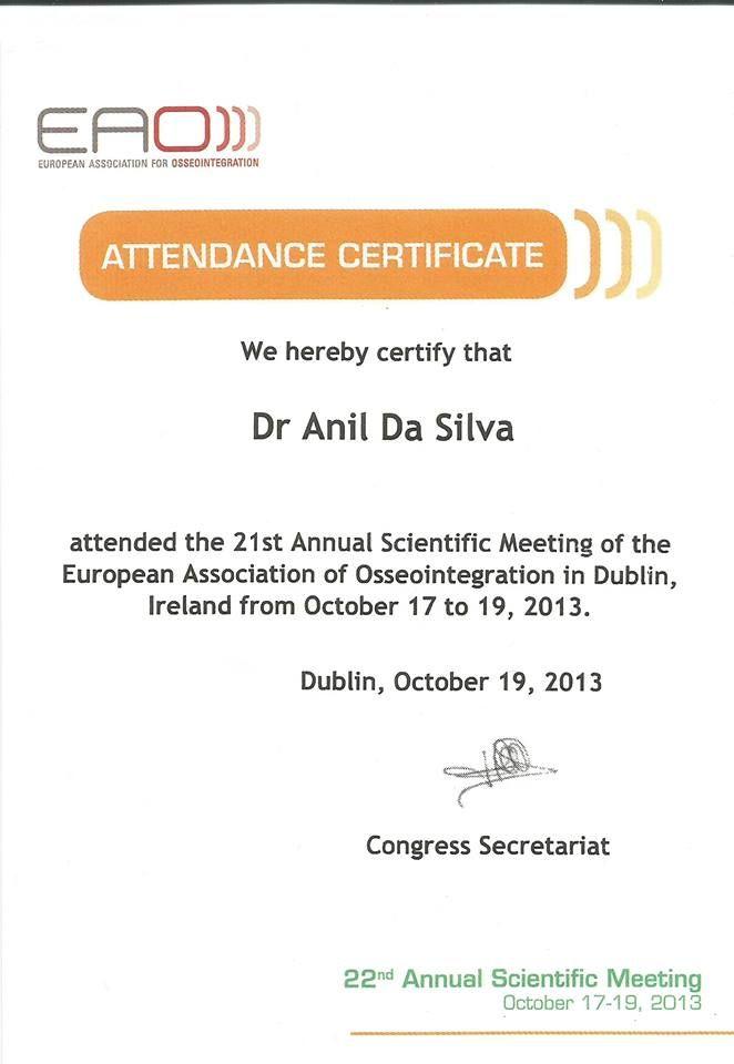 21st annual scientific meeting
