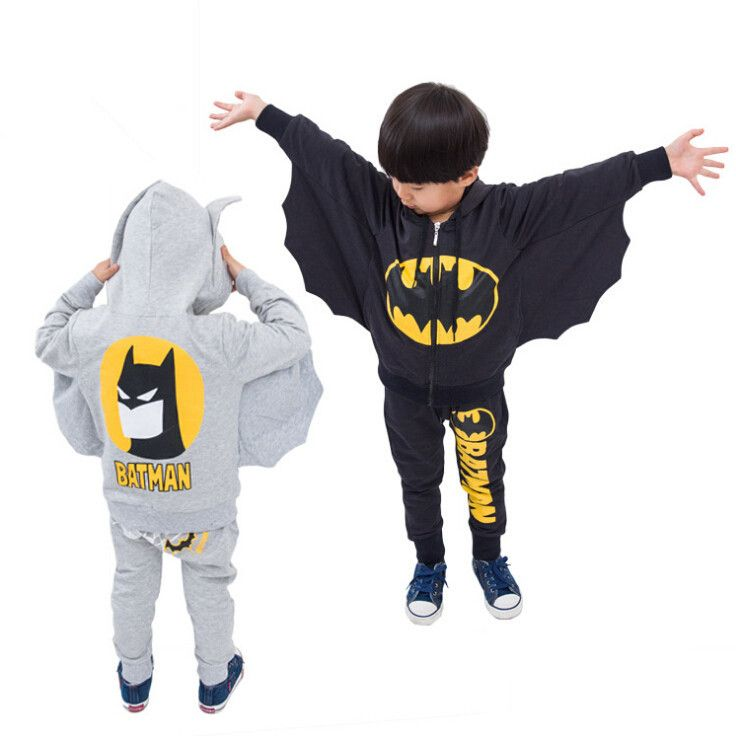 Boys' Hoodie + Pants 100% Cotton //Price: $39.99 & FREE Shipping //     #BatmanFanShop