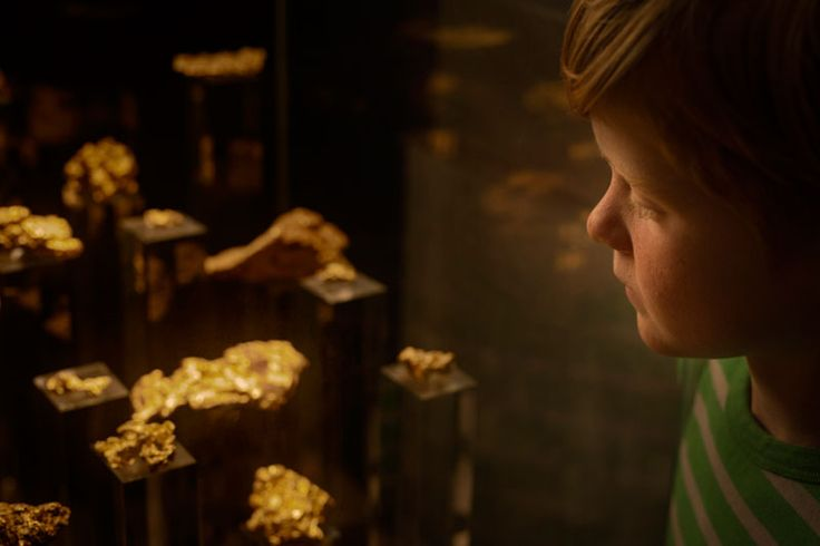 The allure of gold nuggets on display at The Perth Mint Gold Exhibition