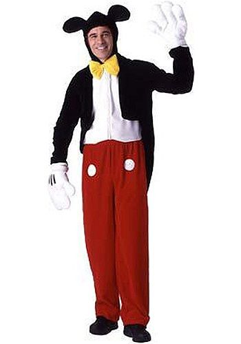 Classic Mickey Mouse costumes are always a hit at Halloween costume events! This online rental is a great addition to your adult Disney group!