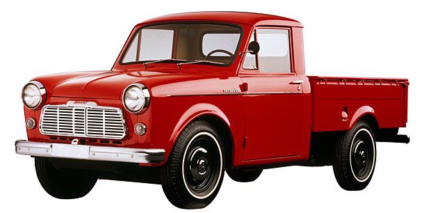 1958 Datsun pickup. They need to start making compact trucks again.