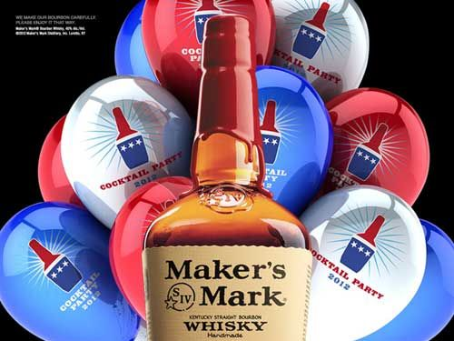 Still Don't Know Who to Vote for? Join Maker's Mark Cocktail Party for a bi-Party-San bash!