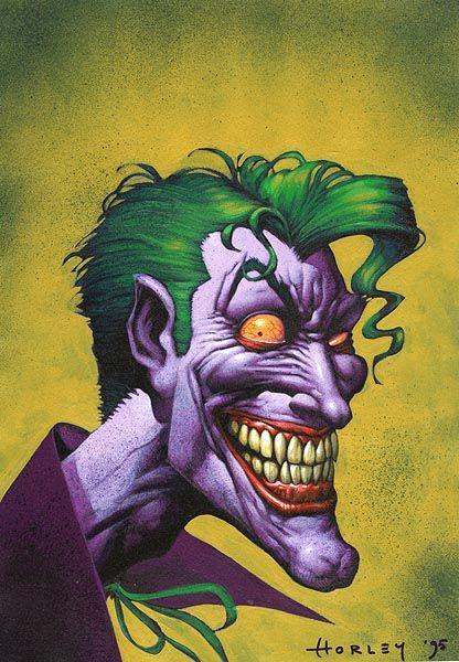 Joker By Alex Horley