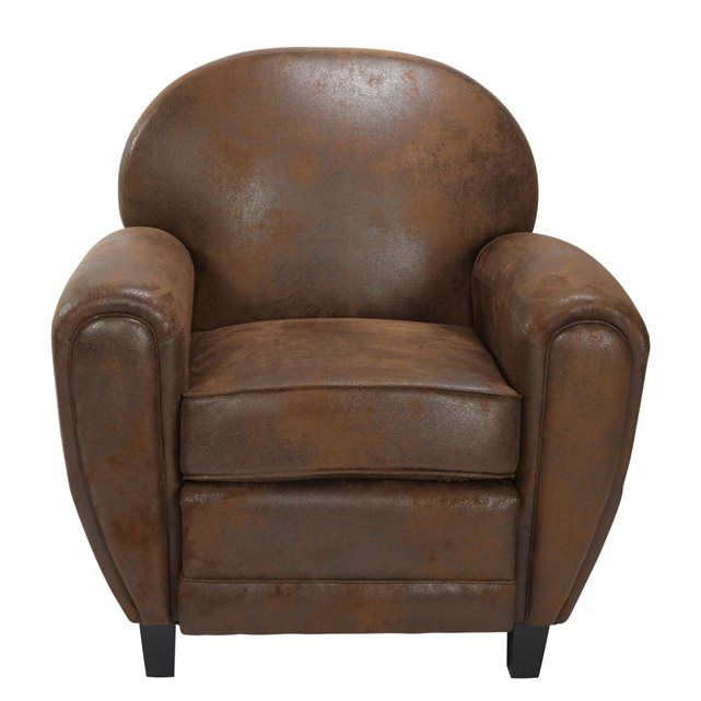 1000 id es sur le th me fauteuil club cuir sur pinterest fauteuils d cor e - Fauteuil club microfibre aspect cuir vieilli ...