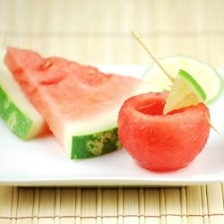 Take your watermelon shot and then eat the shot glass