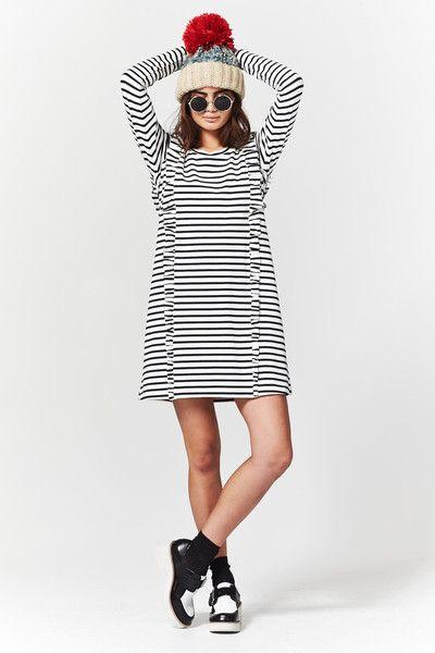 Cooper Ruffleupagus Dress at Wendys Boutique