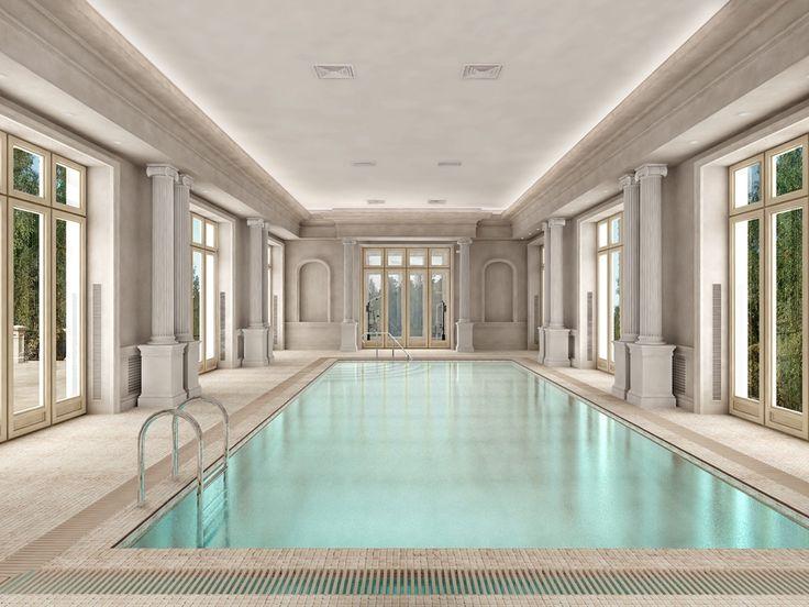 Классический бассейн в частном доме