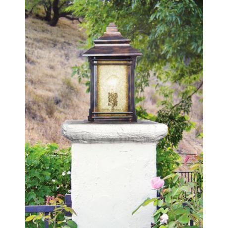 83 best landscape lighting images on pinterest street hickory point 16 12 pier mount light in walnut bronze aloadofball Choice Image