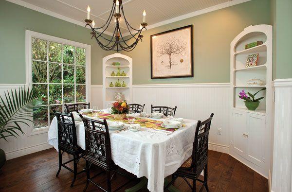 Antique Table Hawaii Plantation Style Lilikoi Lani Hawaiian Style Interio