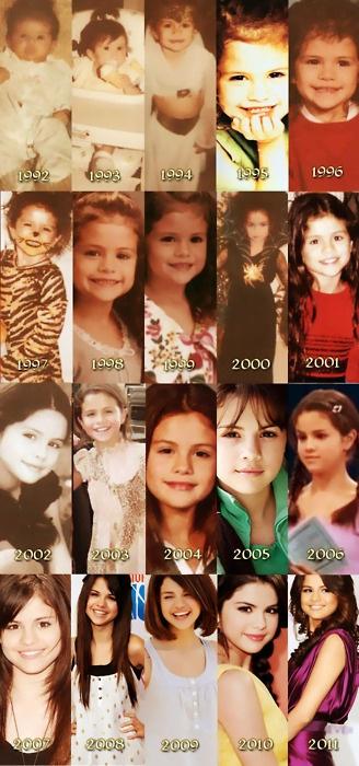 Selena pics# evolution