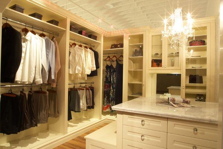 An Example Of Our Trademark Dream Closet. (Chandelier Not Included!) Photo  By