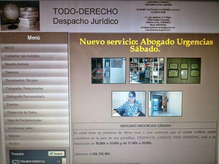 TODO-DERECHO DESPACHO JURÍDICO: NOVEDADES EN DESPACHO JURIDICO TODO DERECHO
