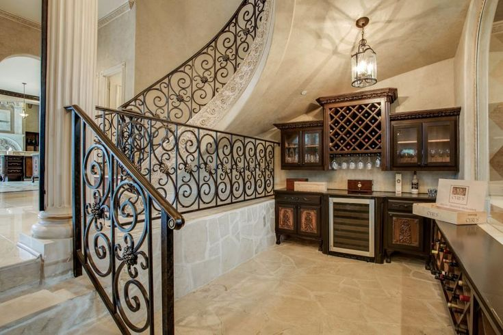 Tour a Grand Mediterranean-Style Home in Plano, Texas | 2016 | HGTV >> http://www.hgtv.com/design/ultimate-house-hunt/2016/making-an-entrance/making-an-entrance-mediterranean-grandeur-in-plano-texas?soc=pinterest
