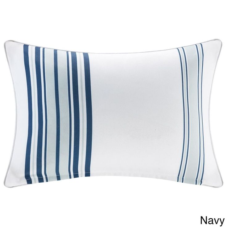 Madison Park Bolinas Printed 3M Scotchgard Indoor/ Outdoor Pillow