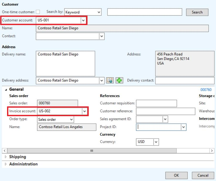 Customizing the system-generated query of the Invoice journal form