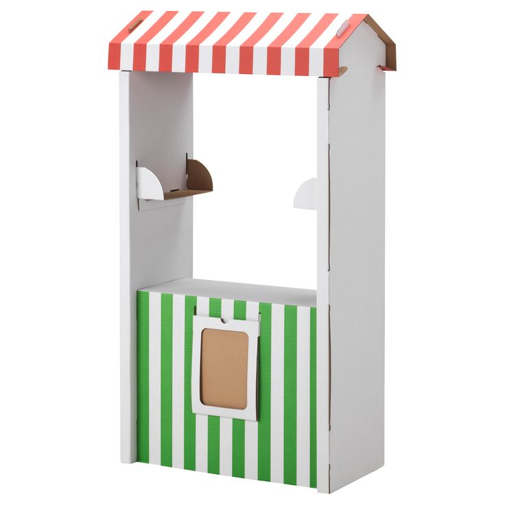 SKYLTA Childrens cardboard market stand