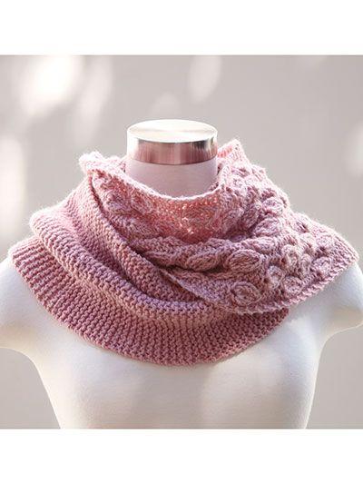 Dusty Bloom Cowl Knit Pattern