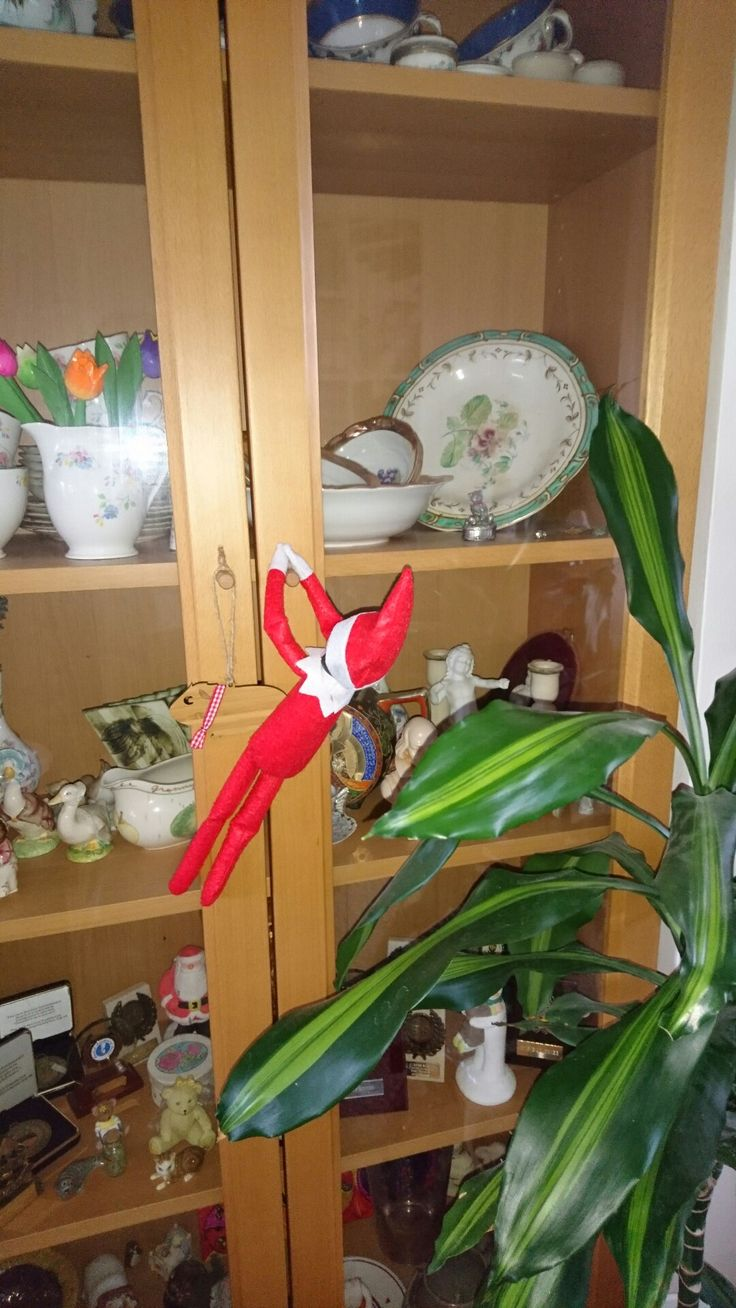 Elf on the Shelf Day 3: Finding the family china