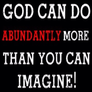 Indeed, He can!! :)