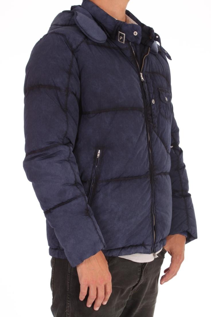 Woven Down Jacket van CP Company - CPU0367 000004 - MAN